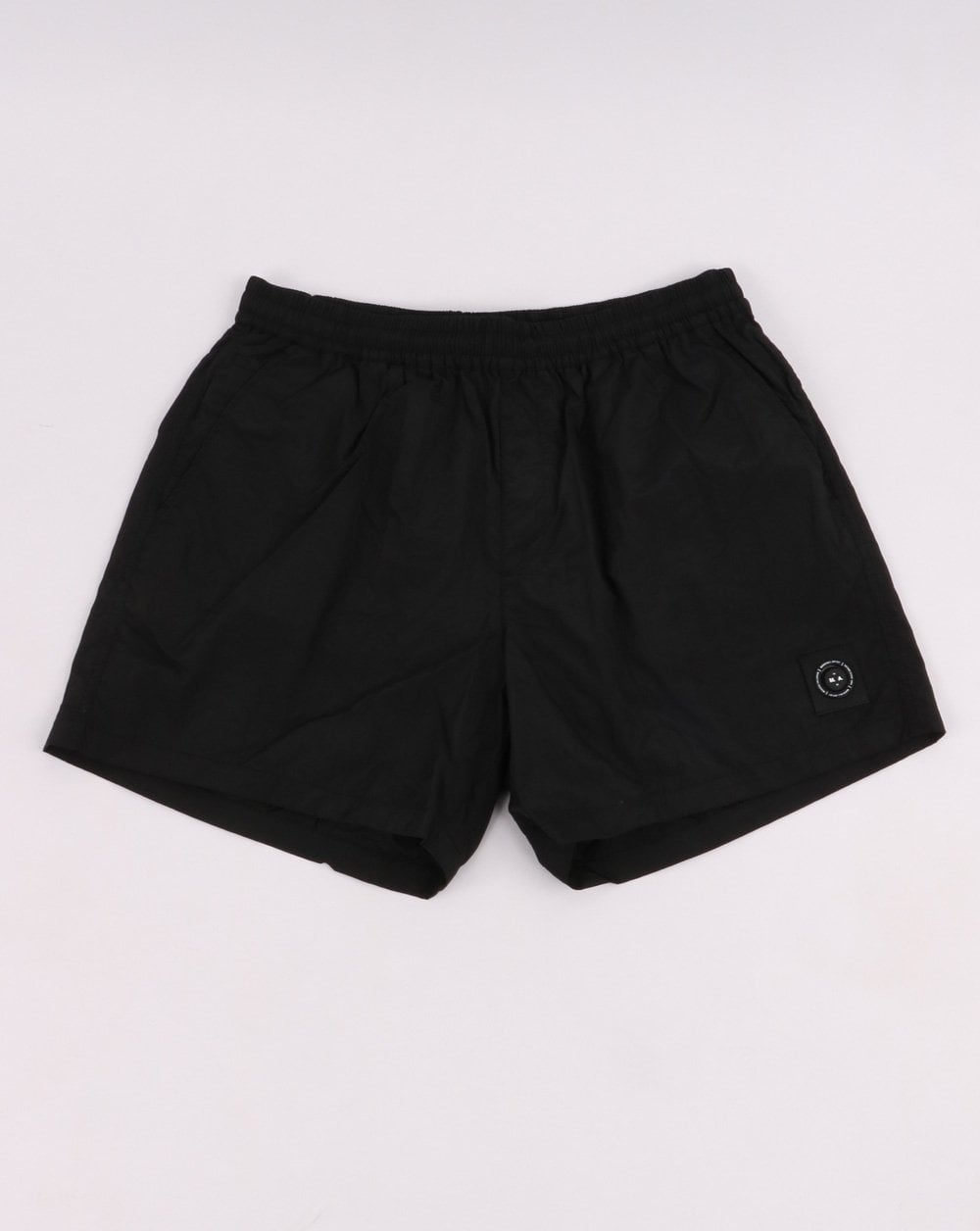 new arrivals wide range best service Marshall Artist Swim Shorts in Black | 80s Casual Classics