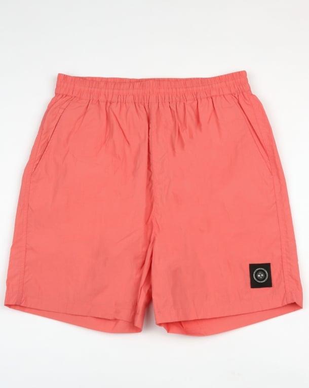 Marshall Artist Micro Swim Shorts Coral