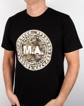 Marshall Artist Mtc Siren Graphic T Shirt Black