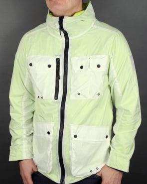 Marshall Artist Multi Pocket Overlay Jacket White/Sulphur