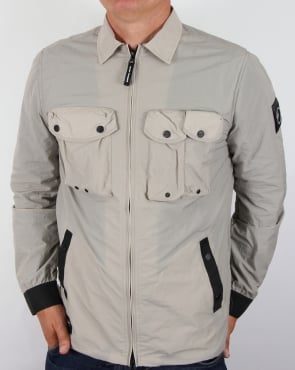 Marshall Artist Multi Pocket Overshirt Jacket Light Sand