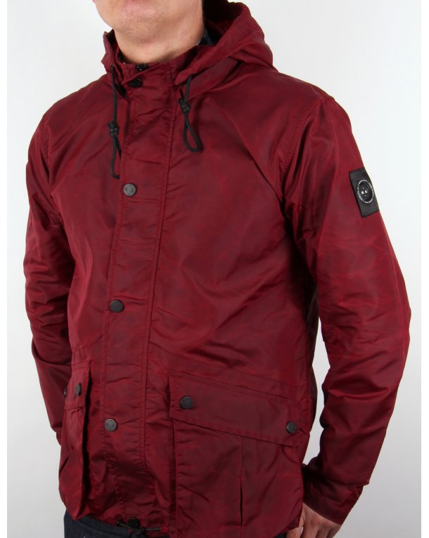 Marshall Artist Raf Jacket Crimson Red