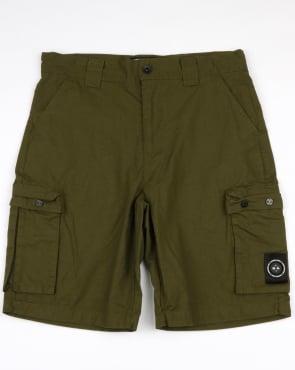 Marshall Artist Ripstop Combat Shorts Khaki