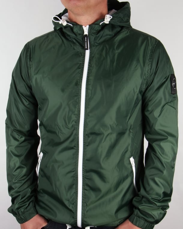 Marshall Artist Ripstop Light Shell Jacket Awaydays Green