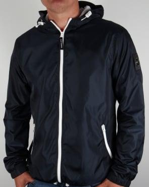 Marshall Artist Ripstop Light Shell Jacket Midnight Navy