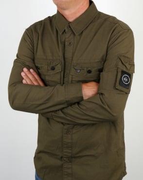 Marshall Artist Ripstop Overshirt Khaki