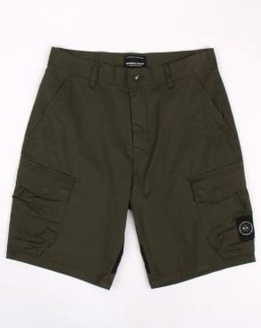 Marshall Artist Siren Combat Shorts Khaki