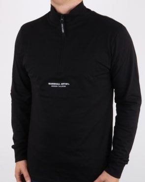 Marshall Artist Siren Funnel Neck Black