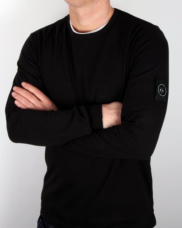 Marshall Artist Siren Long Sleeve T Shirt Black