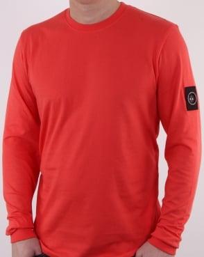 Marshall Artist Siren Long Sleeve T Shirt Coral
