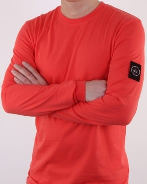 Marshall Artist Siren Long Sleeve T Shirt Coral