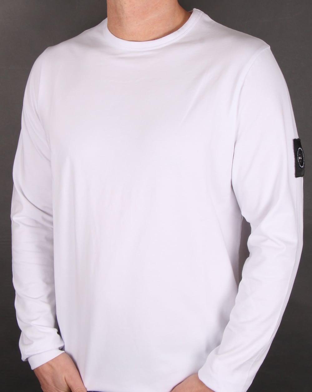 Marshall Artist Siren Long Sleeve T Shirt White, Men's, Tee