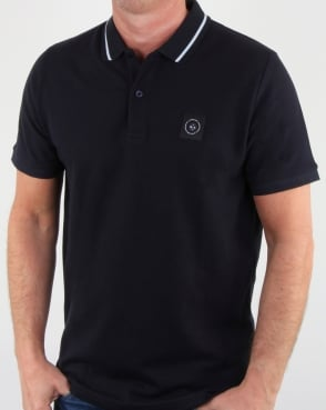 Marshall Artist Siren Polo Shirt Navy