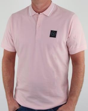 Marshall Artist Siren Polo Shirt Pink