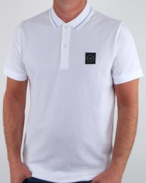 Marshall Artist Siren Polo Shirt White