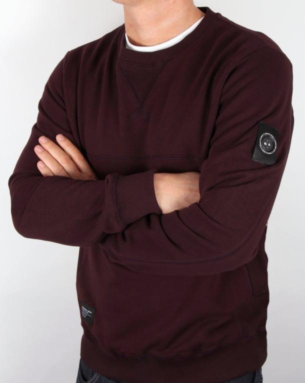 Marshall Artist Siren Sweatshirt Deep Maroon