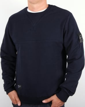 Marshall Artist Siren Sweatshirt French Navy