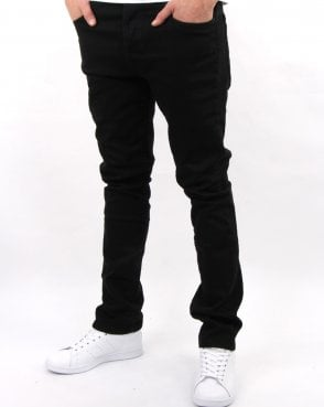 Marshall Artist Slim Tapered Jeans Black Garment Dye