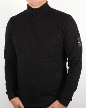 Marshall Artist Zip Roll Neck Black