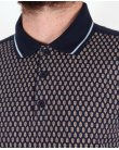 Merc Wilkins Polo Shirt Navy Blue