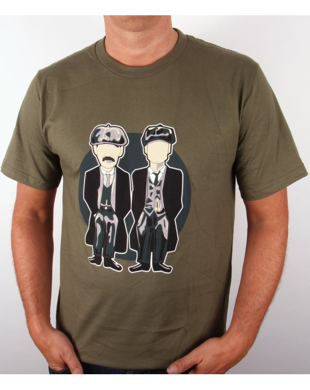 Minty Peaky Blinders T-shirt Green