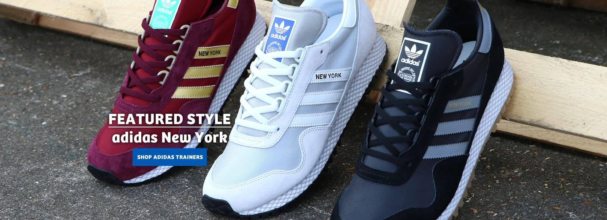 Adidas New York Trainers