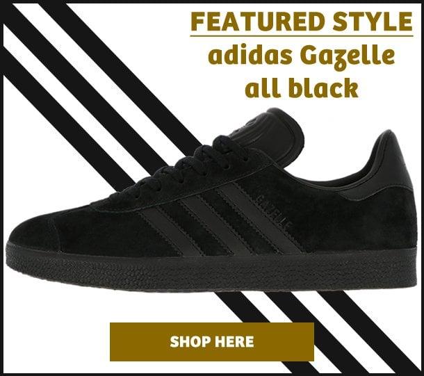 Adidas Gazelle All Black