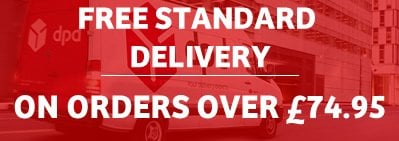 Upgrade to Free Standard Delivery