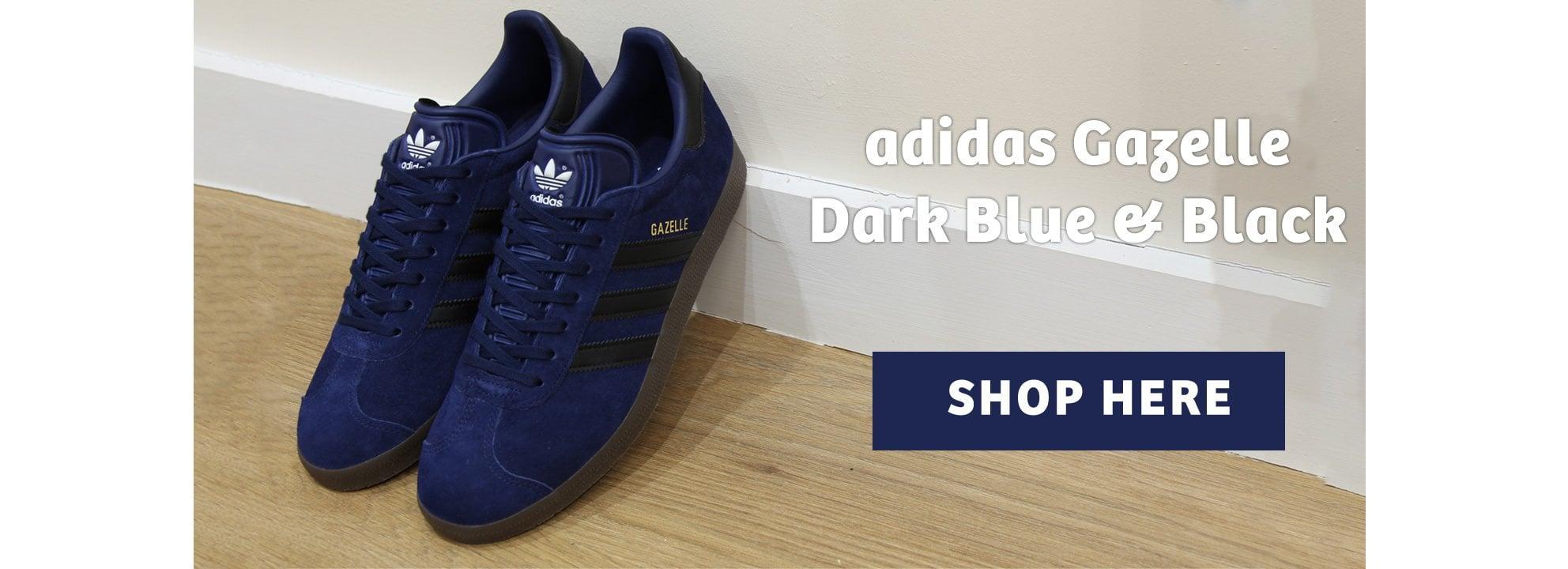 Adidas Gazelle Black & Blue