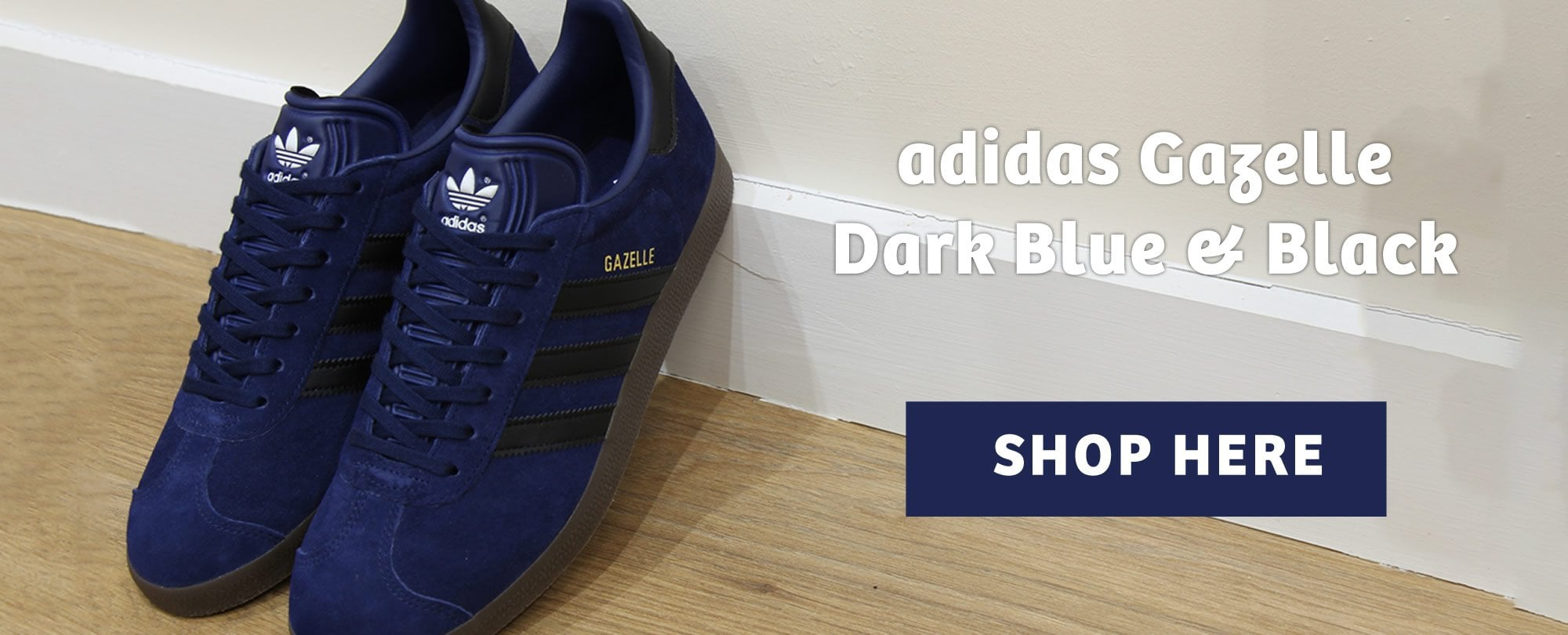 Adidas Gazelle Blue & Black
