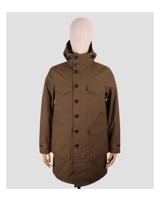 Mt Rainier Design Rip-stop Army Coat Olive Green