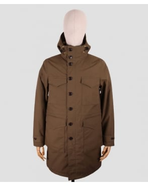Mt. Rainier Design Rip-stop Army Coat Olive Green