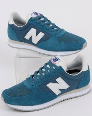 New Balance 220 Trainers Light Blue/White
