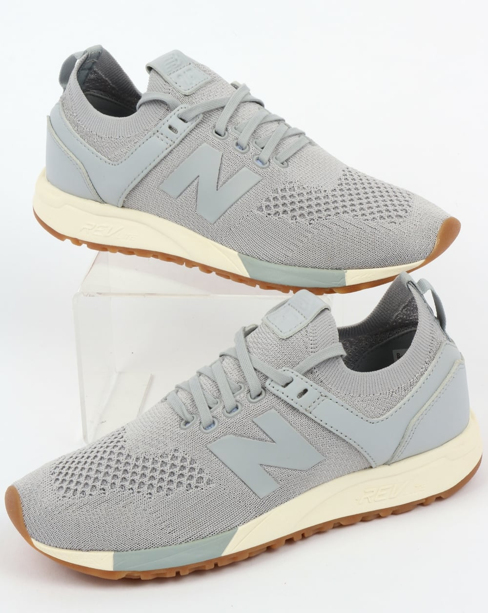 New Balance 247 Decon Trainers GreyWhite