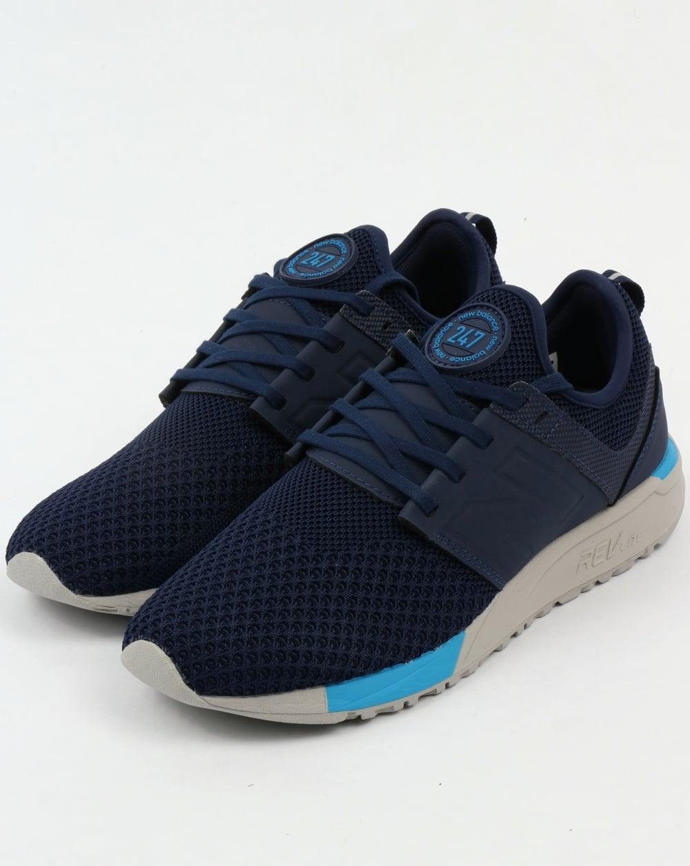 New Balance 247 Sport Trainers Navy/blue