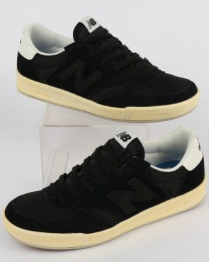 New Balance 300 Trainers Black/White