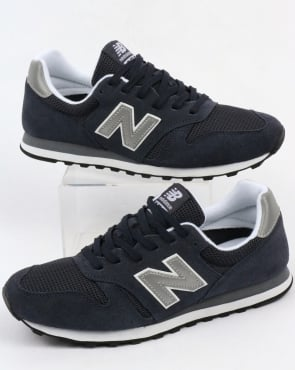 New Balance 373 Modern Classics Trainers Navy/silver