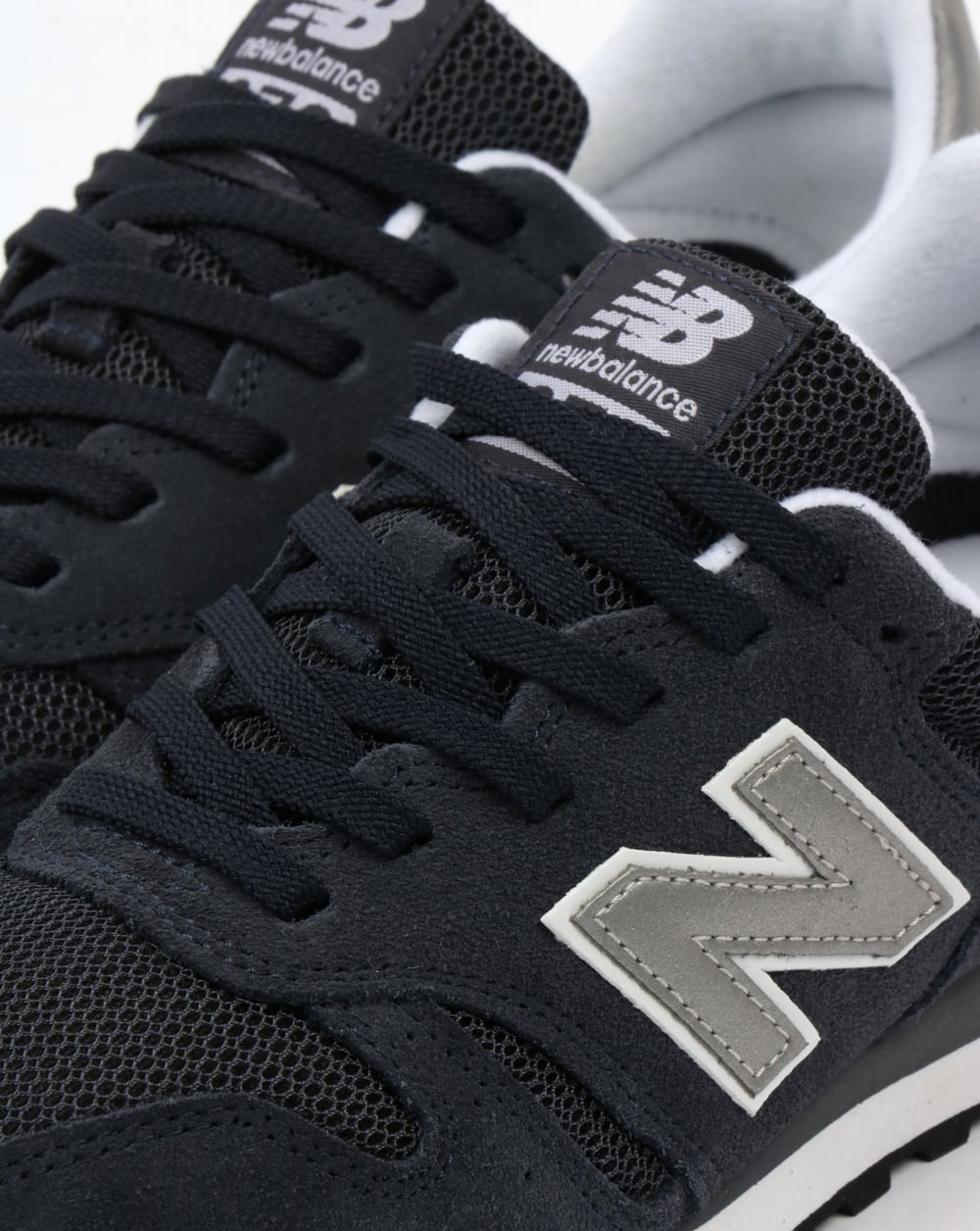 new balance modern classic 373 trainers in black