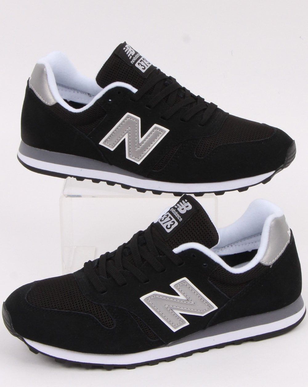 new balance 373 noir et or