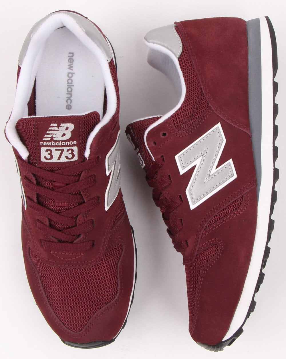 timeless design e10c2 b514e New Balance 373 Trainers Burgundy