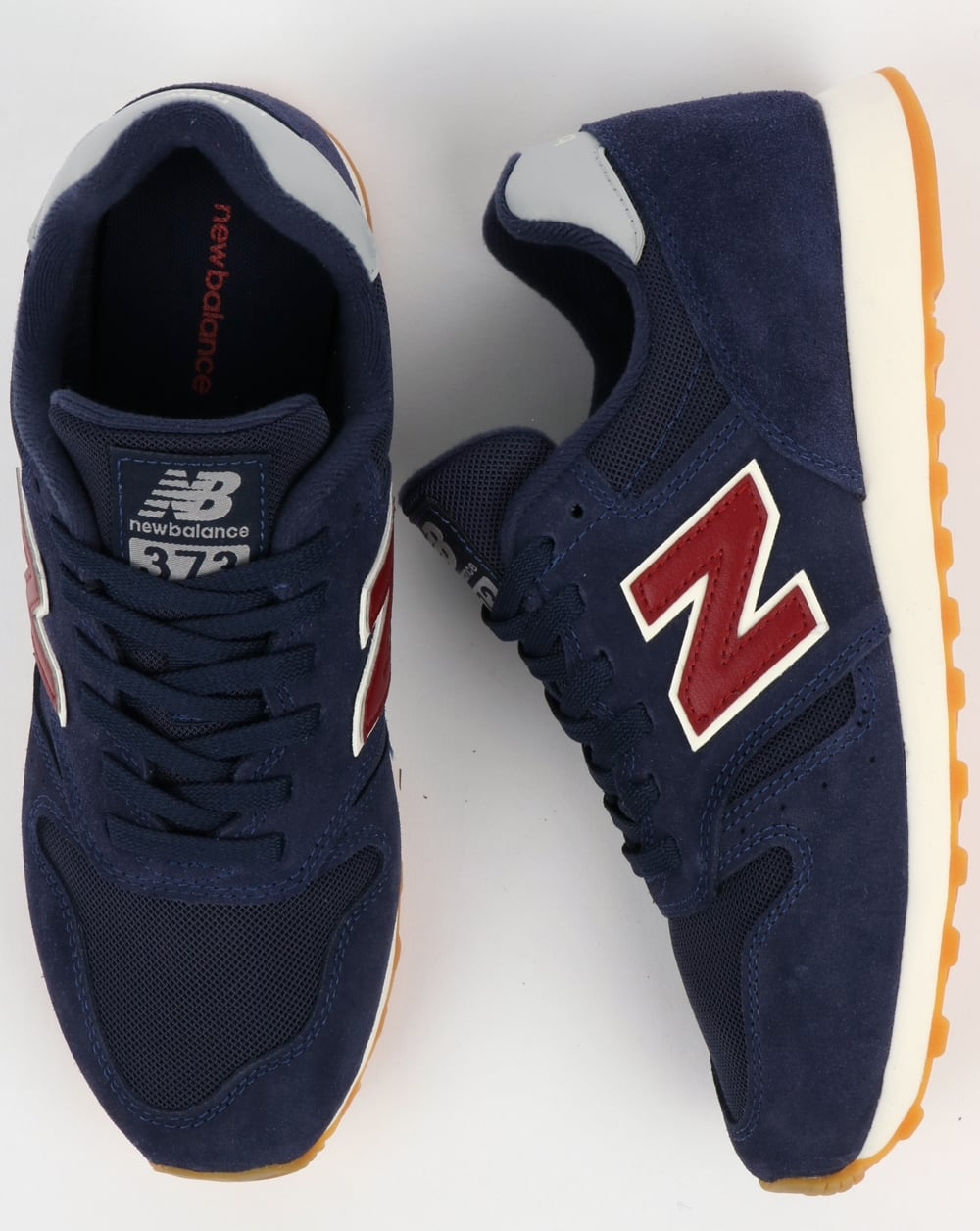 quality design 8fdc6 6f393 New Balance 373 Trainers Navy/Red