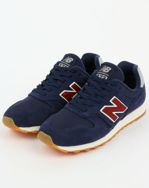 b686555b3546b New Balance 373 Trainers Navy/Red,shoes,running,70s