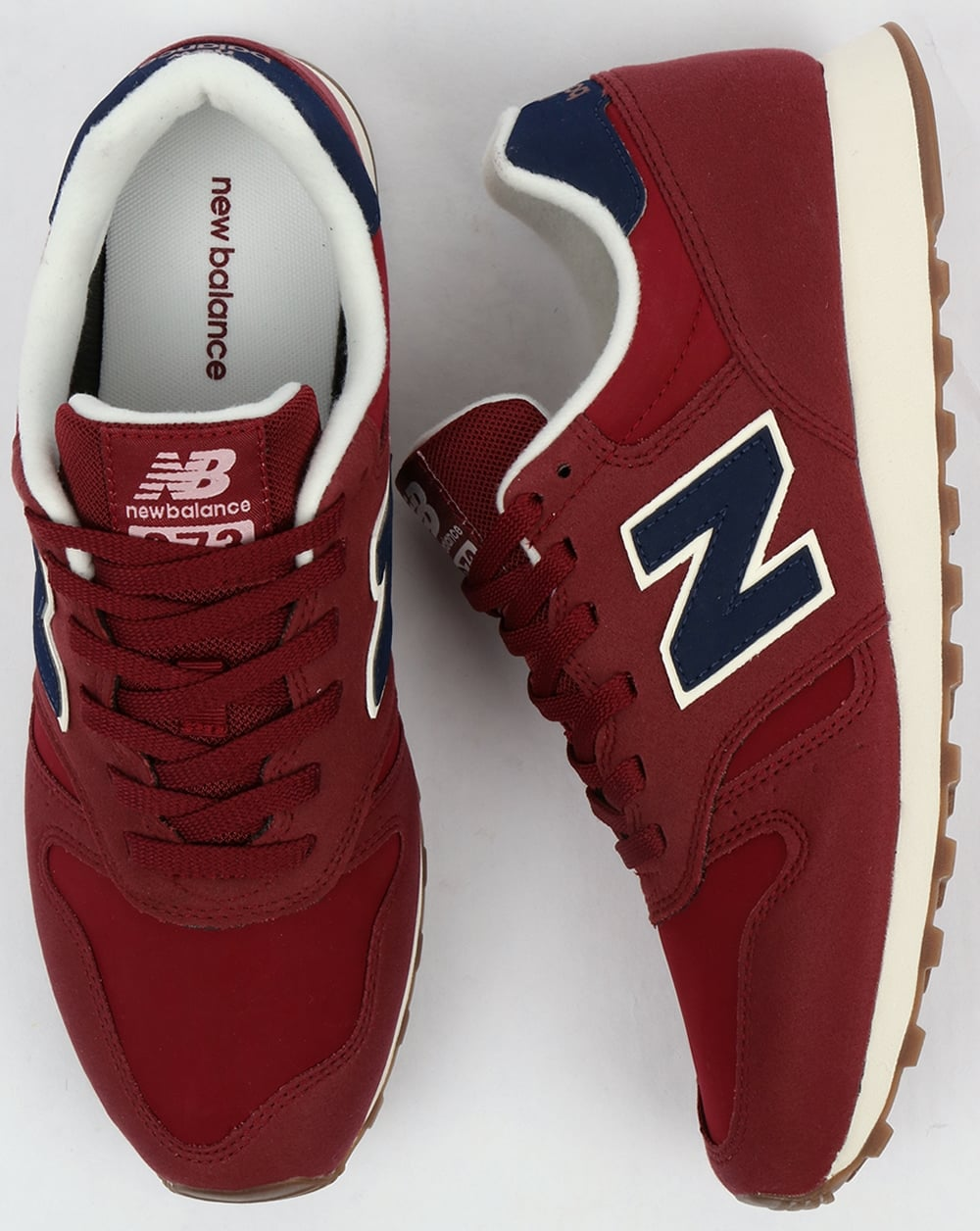 new balance 373 blue and brown