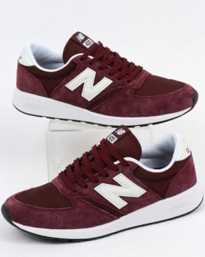 New Balance 420 Re-engineered Trainers Burgundy