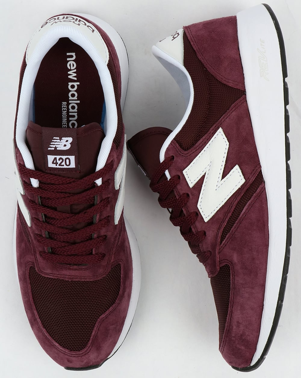new balance 420 burgundy