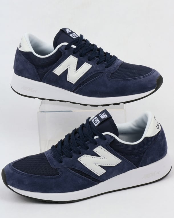 NEW BALANCE 420 Re-engineered Trainers Navy
