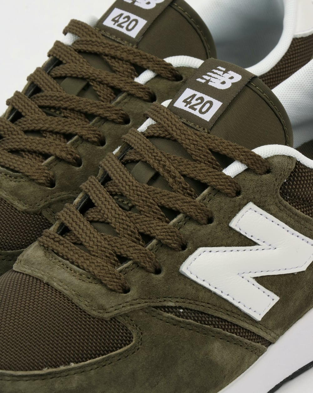 Engineered Trainers Olive Green