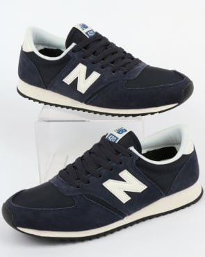 New Balance 420 Trainers Navy/Off White