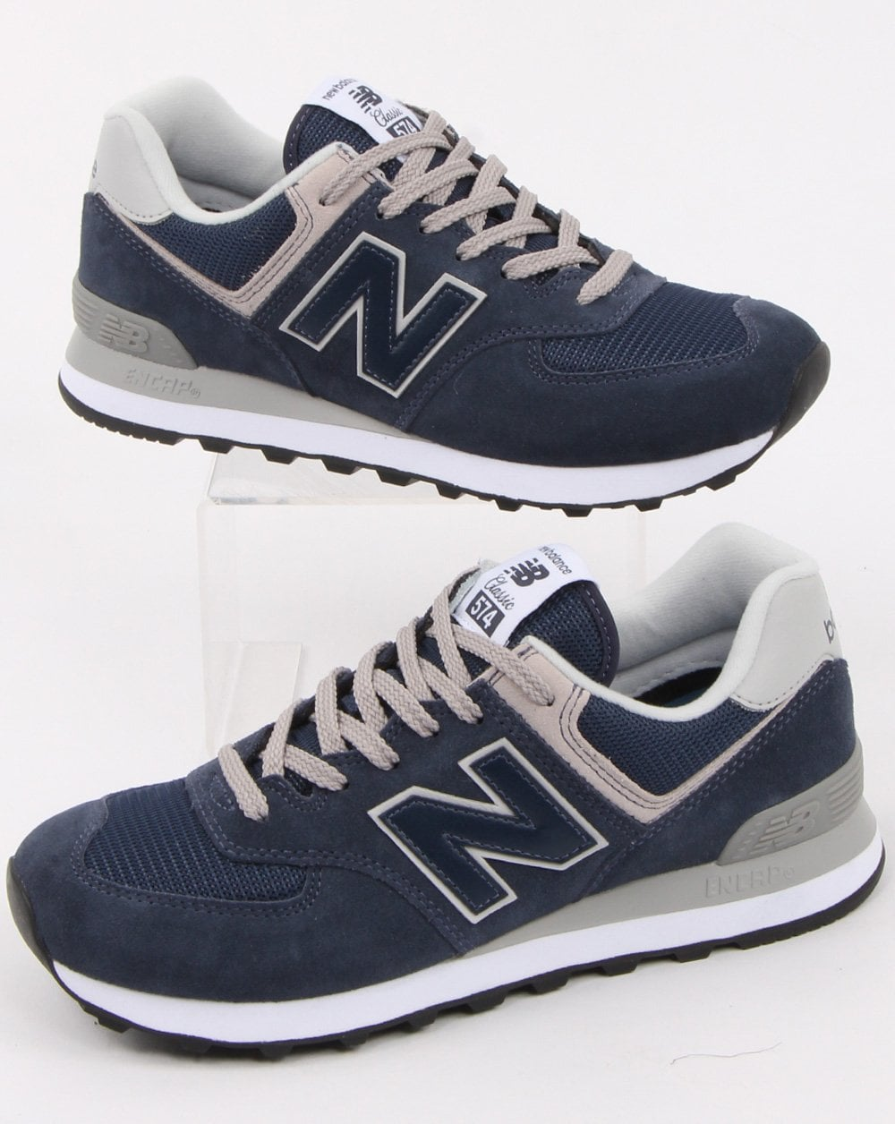new arrival 5602a 9cb2c New Balance 574 Trainer Navy