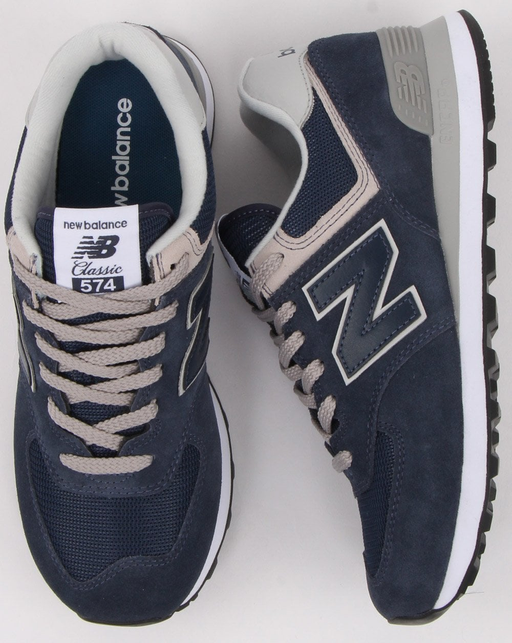 new arrival 82d34 772f3 New Balance 574 Trainer Navy